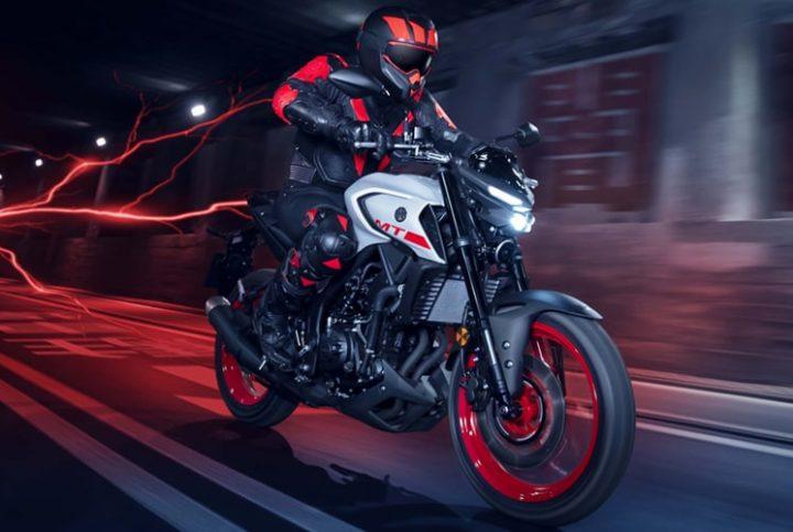 Dominez les routes avec la nouvelle moto MT-03 2020 de Yamaha