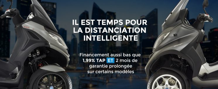 Piaggio – La distanciation intelligente