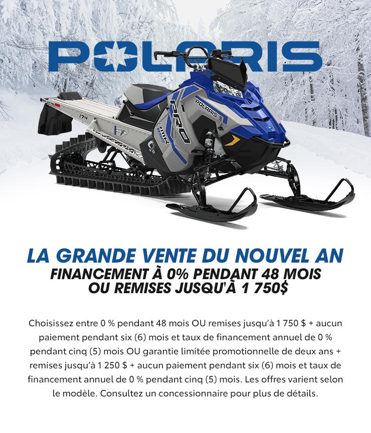 Polaris – La grande vente du nouvel an