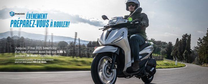 Piaggio – Événement Préparez-vous à rouler!